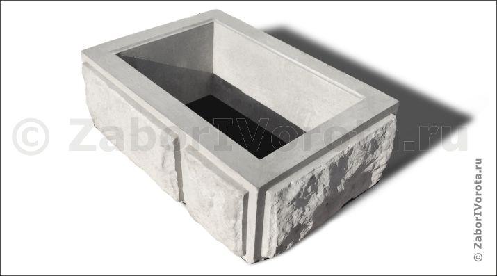 Купить декоративные блоки для строительства забора