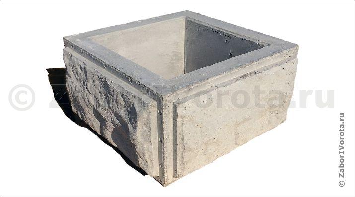 Купить декоративные бетонные блоки для забора