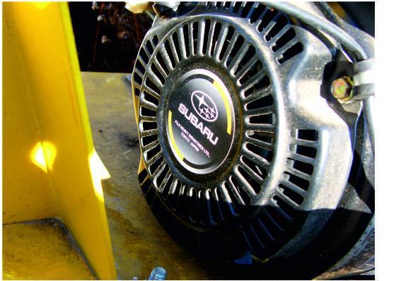 Ямобур Gound Hog с двигателем SUBARU