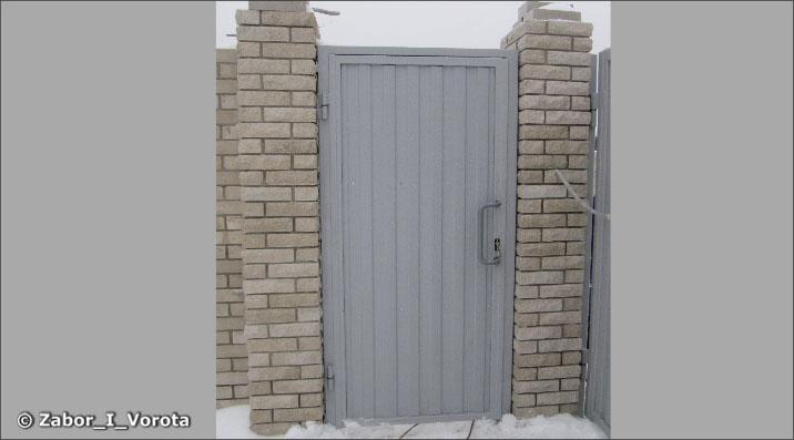 Запор автоматических распашных ворот