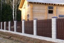 Забор из блоков Престиж в Наро-Фоминске