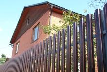 Забор из евроштакетника Раменское