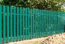 Забор из евроштакетника Barrera Софрино