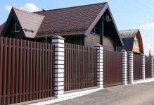 Забор из блоков Престиж в Сергиевом Посаде