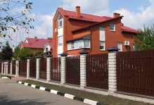 Забор из блоков Престиж в Троицке