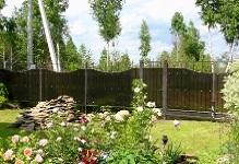 Забор из поликарбоната в Орехово-Зуево