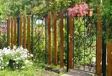 Забор из доски ромбы в Орехово-Зуево
