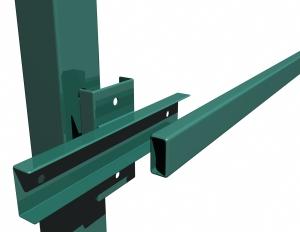 Как правильно крепить лаги к столбам забора, Крепеж для столбов и лаг в строительстве заборов и ограждений