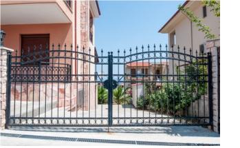 Сварные решетчатые ворота
