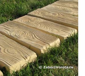 Форма для тротуарной плитки из дерева своими руками