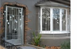 Двери решетки