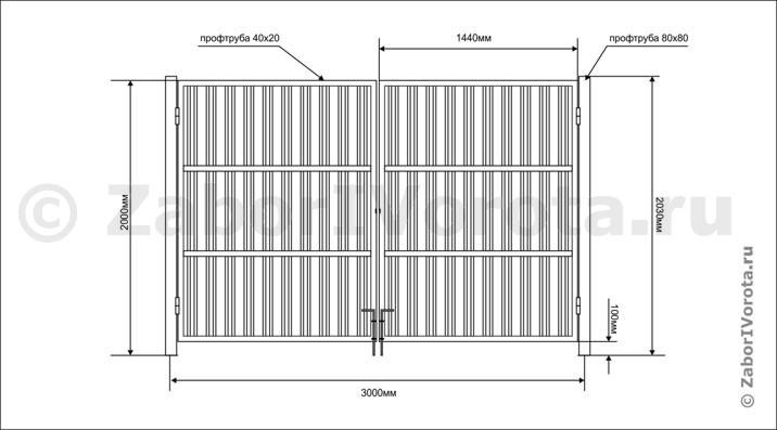 Смета на монтаж металлических ворот сдвижные ворота комплекты