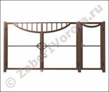 Каркас ворот и калитки №6
