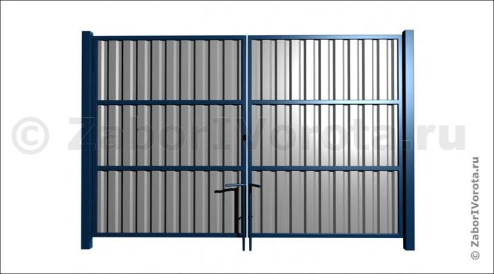 Ворота из профнастила VP-5