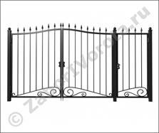 Рама автоматических ворот