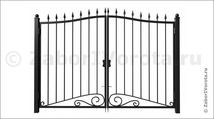 Ворота сварные сплошные цена комплектующие для сдвижных ворот люберц