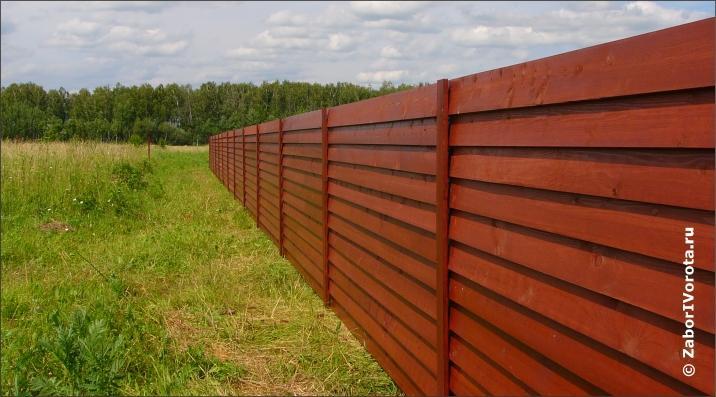 Как правильно сделать деревянный забор правильно